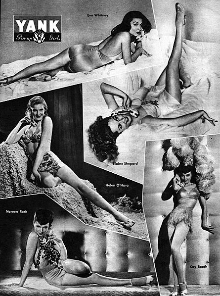 Pin-Up Girls From World War II